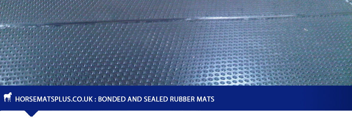 Bonded and Sealed Rubber Floor Mats