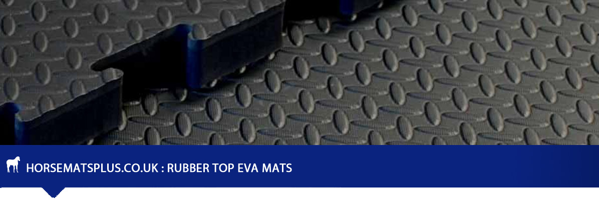 Rubber Top EVA Floor Mats - Hard Wearing