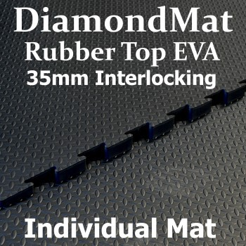 Rubber Top EVA – Interlocking – 35mm Diamond Mat – Individual