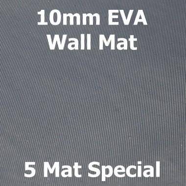 EVA 10mm Wall Mat - 5 Mat Special