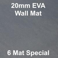 EVA 20mm Wall Mat - 6 Mat Special