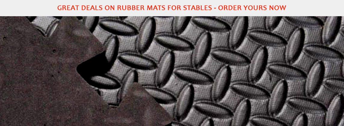 Rubber Mats for Stables