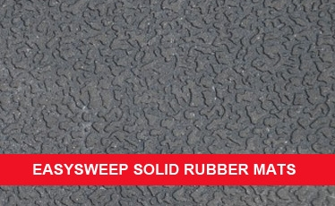 Solid Rubber Floor Mats- EasySweep