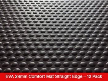 EVA 24mm Comfort Mat Straight Edge – 12 Mat Special – Free Shipping