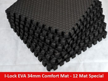 EVA 34mm INTERLOCKING Comfort Mat – 12 Set Special – free shipping