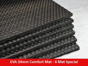 EVA 34mm Comfort Mat Straight Edge – 6 Mat Special – Free Shipping