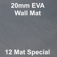 EVA 20mm Wall Mat - 12 Mat Special