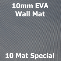 EVA 10mm Wall Mat - 10 Mat Special