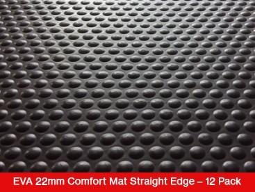 EVA 22mm Comfort Mat Straight Edge – 12 Mat Special – Free Shipping