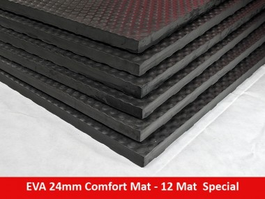 EVA 24mm Comfort Mat Straight Edge – 12 Mat Special – Free Shipping