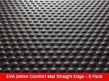EVA 24mm Comfort Mat Straight Edge – 6 Mat Special – Free Shipping
