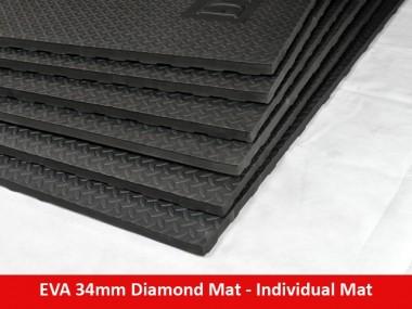EVA 34mm Diamond Mat 4ft x 3ft - Individual