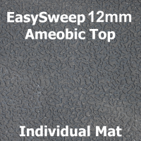 12mm EasySweep Solid Rubber Stable Mat - Ameobic -  individual