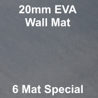 EVA 20mm Wall Mat - 6 Mat Special