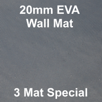 EVA 20mm Wall Mat - 3 Mat Special